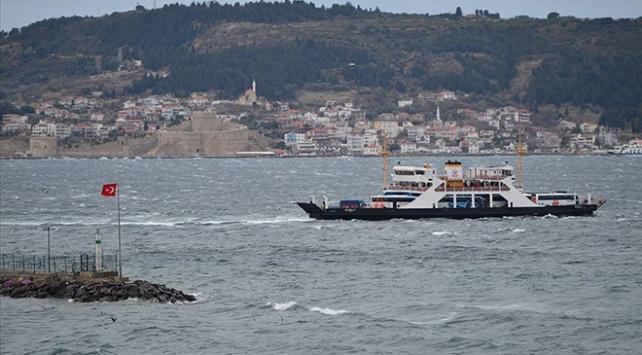 Bozcaada ve Gökçeada'da bazı feribot seferleri iptal oldu