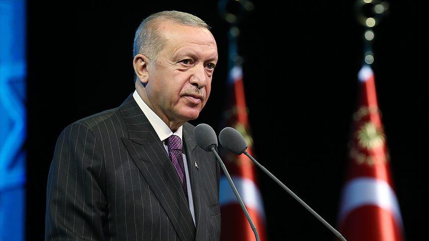 Erdoğan'dan vefat eden Kilis Belediye Başkanı Bulut için başsağlığı mesajı