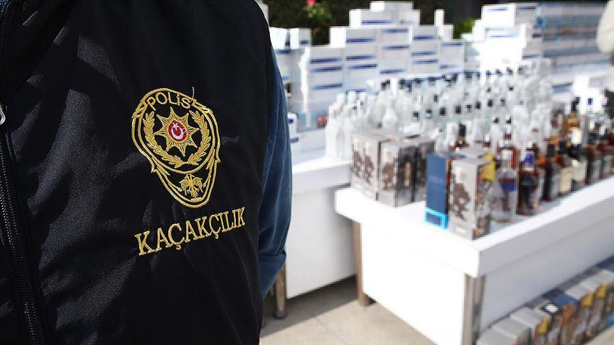 Sahte içki operasyonlarında 6 günde 60 tutuklama