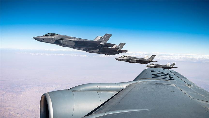 ABD Merkez Kuvvetler Komutanlığından İsrail semalarında F-35 tatbikatı