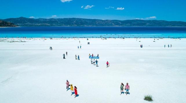 Salda Gölü çevresine 36 kilometrelik bisiklet yolu