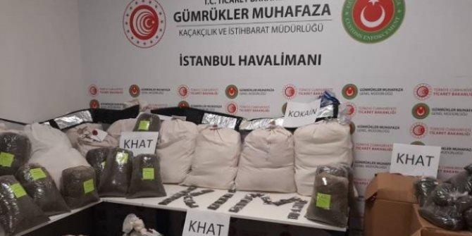 İstanbul Havalimanı'nda 420 kilogram uyuşturucu yakalandı