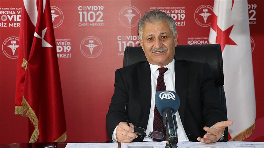 KKTC Sağlık Bakanı Pilli: Mecbur kalmadıkça virüs vakaları artan Rum tarafına geçmeyin