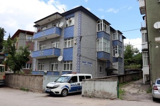 Lüleburgaz'da bir apartman karantinaya alındı