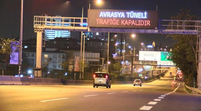Avrasya Tüneli bakım onarım çalışmaları için kapatıldı