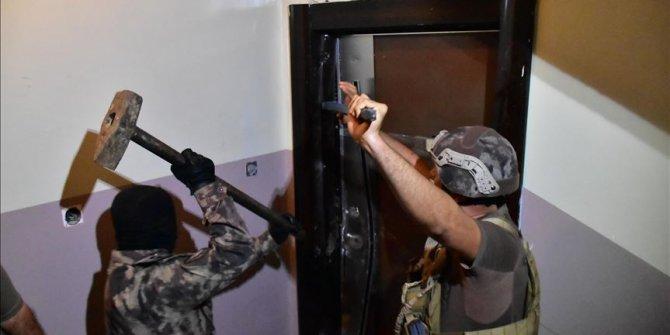 Gaziantep'te helikopter ve drone destekli uyuşturucu operasyonu: 26 gözaltı