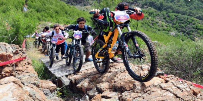 Dünya Dağ Bisikleti Maraton Şampiyonası'na rekor katılım
