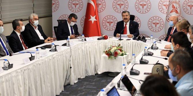 Sağlık Bakanı Koca Erzurum'dan önemli açıklamalarda bulundu