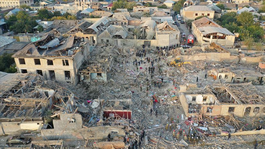 Bakanlardan sivillere saldıran Ermenistan'a kınama