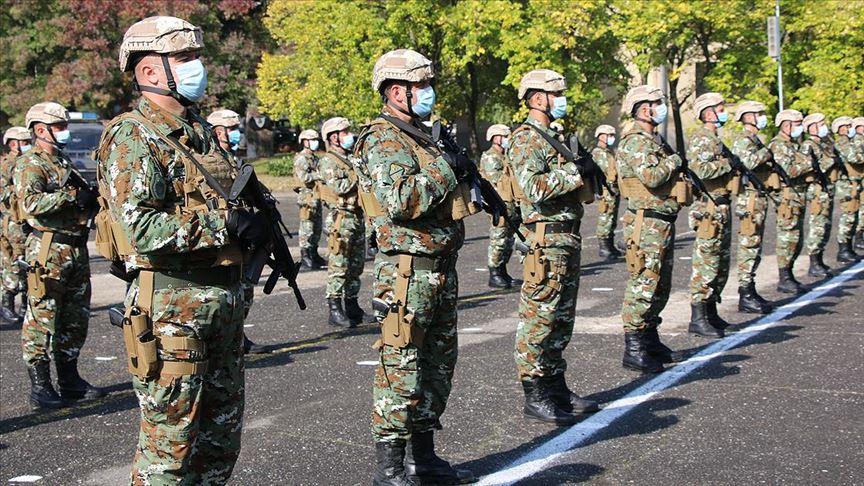 Kuzey Makedonya'dan NATO'nun Kosova Barış Gücü'ne ilk askeri birlik gönderildi