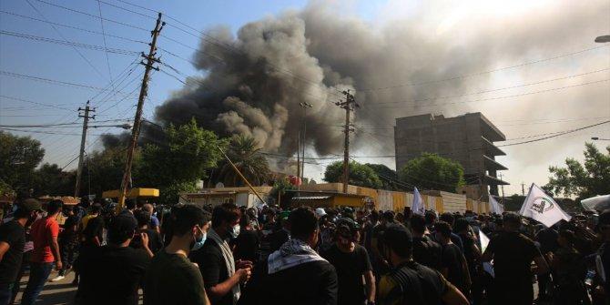 Bağdat'ta Haşdi Şabi yanlıları KDP binasını bastı