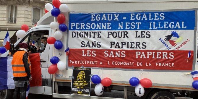 """Fransız halkı, """"Macron, senden tüm kalbimle nefret ediyorum."""""""