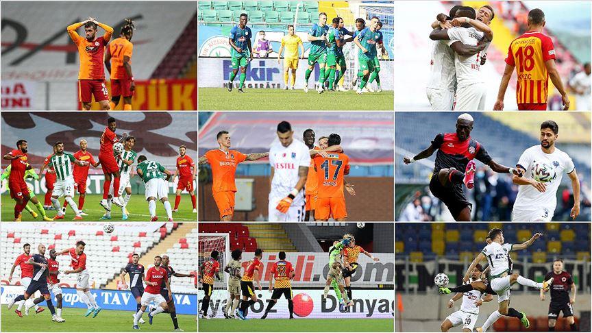 Süper Lig'de 5. hafta, 2 maçla tamamlandı