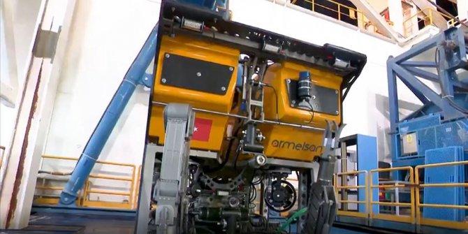 Yerli denizaltı robotu Kaşif sondaj gemilerinin denizdeki gözü olacak