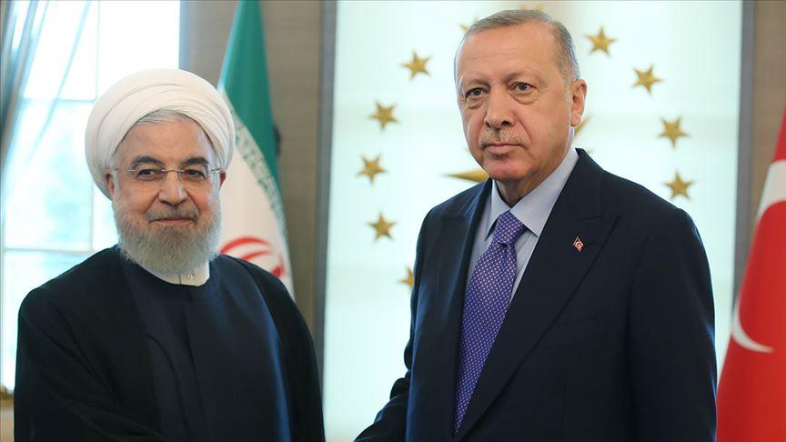 Erdoğan ile İran Cumhurbaşkanı Ruhani telefonda görüştü