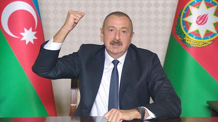 İlham Aliyev: 20 köy ve 1 kasabanın daha işgalden kurtarıldı