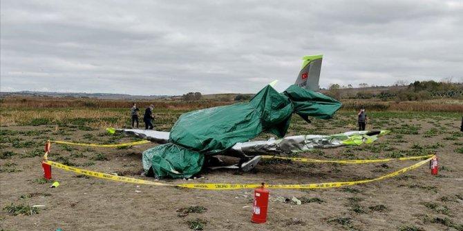 Eğitim uçağı kazasında hayatını kaybeden pilot son yolculuğuna uğurlandı