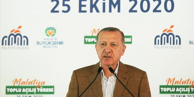 Cumhurbaşkanı Erdoğan Toplu Açılış Töreni'ne katıldı