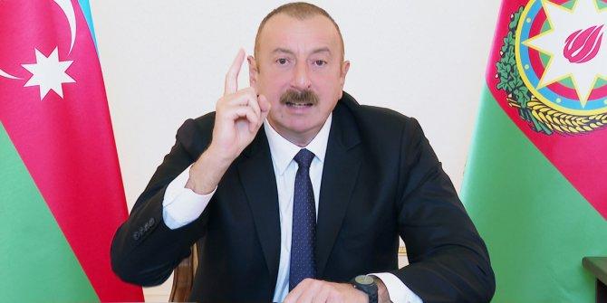 Aliyev'den, Ermenistan'a bedava silah gönderen ülkelere tepki