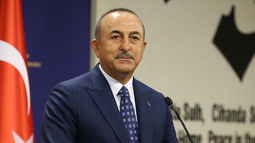 Çavuşoğlu, Azerbaycanlı mevkidaşı Bayramov'la Yukarı Karabağ'ı görüştü