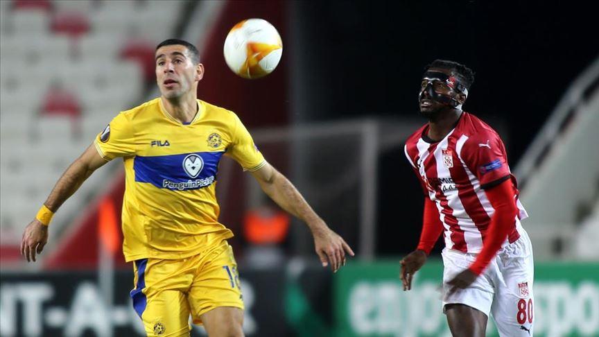 Sivasspor, UEFA Avrupa Ligi I Grubu ikinci maçında yenildi