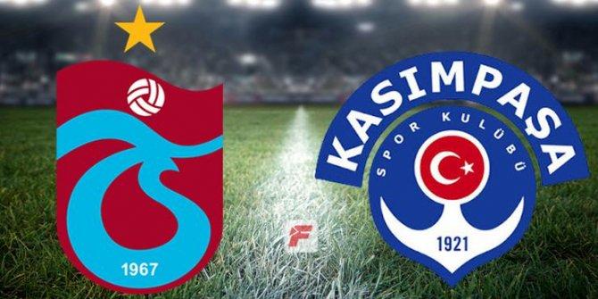 Trabzonspor-Kasımpaşa maçında gol düellosu