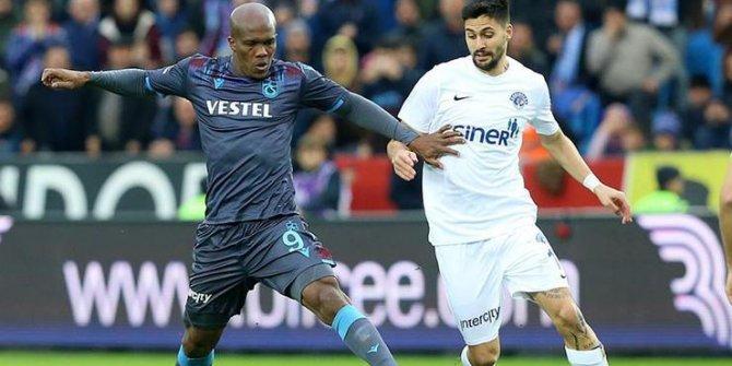 Trabzonspor gol düellosunu kaybetti