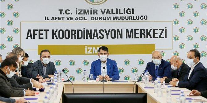 İzmir'de Bakan Kurum başkanlığında koordinasyon toplantısı yapıldı