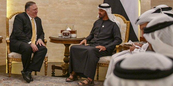 ABD Dışişleri Bakanı Pompeo, Abu Dabi Veliaht Prensi Muhammed bin Zayid ile görüştü