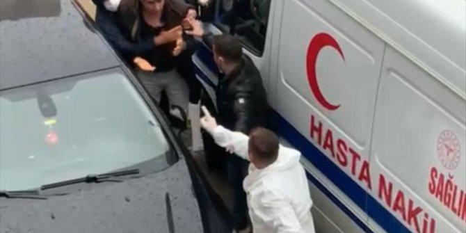 Hasta nakil aracının sürücüsünü darbettiği ileri sürülen zanlı serbest bırakıldı