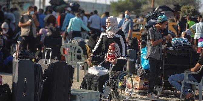 Gazze ile Mısır arasındaki Refah Sınır Kapısı 3 gün süreyle çift yönlü açılacak