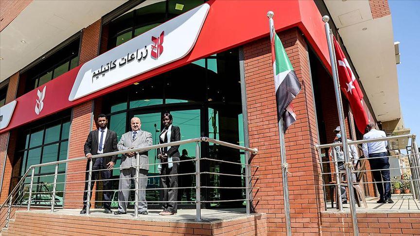 Ziraat Katılım ilk yurt dışı şubesini Sudan'da açtı