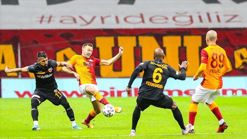 Galatasaray, Kayserispor engelini geçmedi