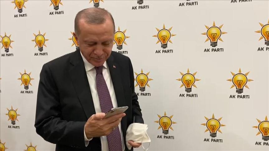Erdoğan, İzmir depreminin simge isimlerinden Ayda ile telefonda görüştü