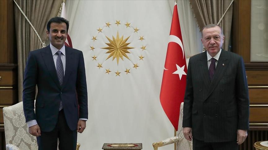 Erdoğan: Kardeş Katar halkıyla dayanışmamızı her alanda güçlendirerek sürdüreceğiz