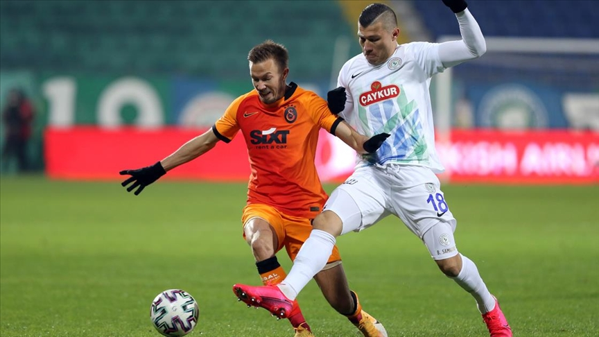 Galatasaray deplasmanda rahat kazandı