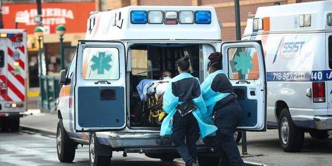 ABD'de son 24 saatte 3 bin 31 kişi Kovid-19'dan hayatını kaybetti