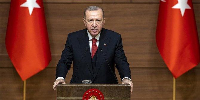 Cumhurbaşkanı Erdoğan: Anadolu, sanat üretimi için büyük bir klasör gibidir