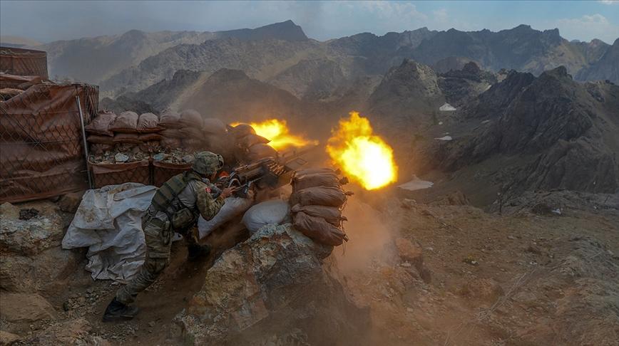 Eren-10 Operasyonu'nda 4 terörist öldürüldü