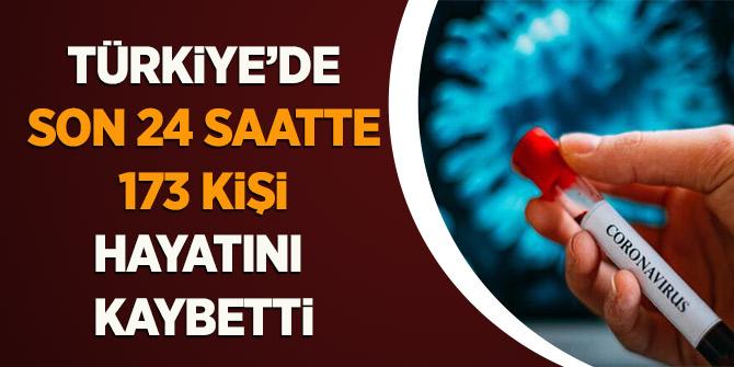 Türkiye'de Son 24 Saatte 173 Kişi Hayatını Kaybetti