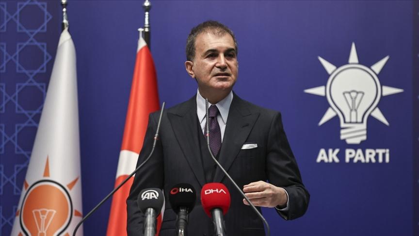 AK Parti Sözcüsü Ömer Çelik'ten Yunanistan'a kınama