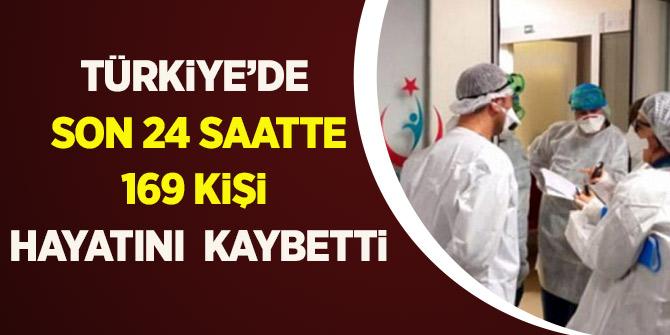 Türkiye'de Son 24 Saatte 169 Kişi Hayatını Kaybetti