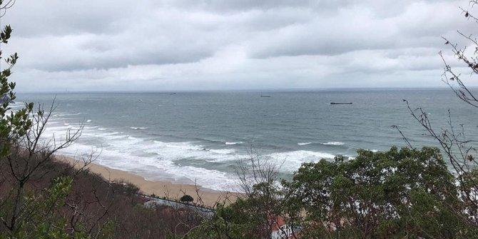 Karadeniz'de batan kuru yük gemisinden 6 kişi kurtarıldı, 1 kişinin cesedine ulaşıldı