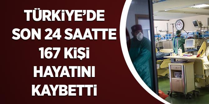 Türkiye'de Son 24 Saatte 167 Kişi Hayatını Kaybetti