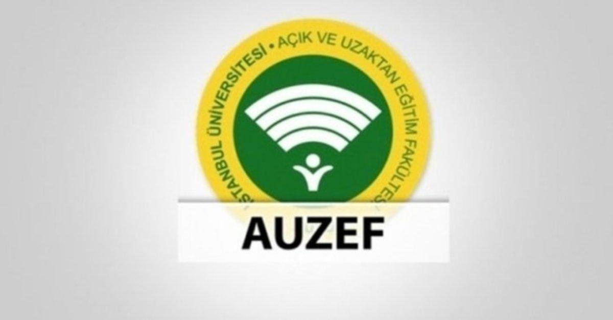 AUZEF 2021 telafi sınavları ne zaman yapılacak?