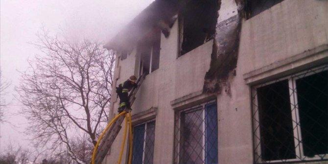 Ukrayna'da bir huzurevinde çıkan yangında 15 kişi öldü