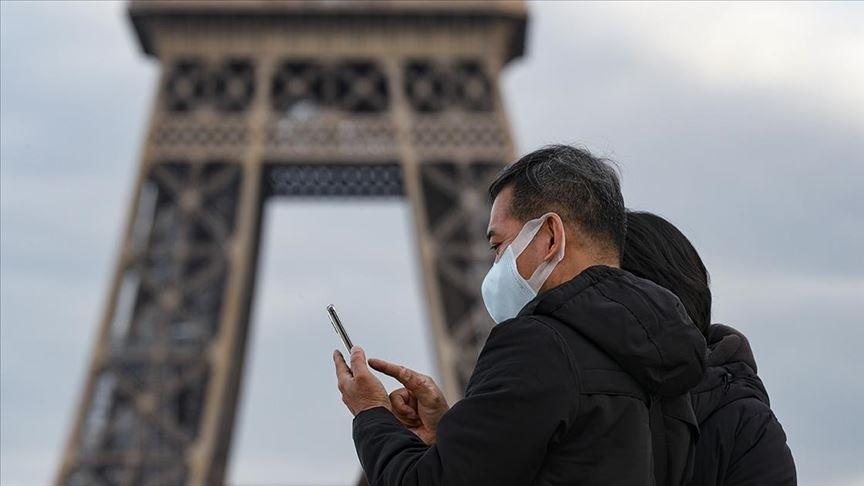 Fransa'da Kovid-19 vaka sayısı 3 milyonu geçti