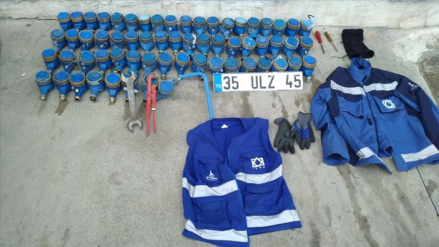 İzmir'de su sayaçlarını çaldığı iddia edilen İZSU çalışanı tutuklandı