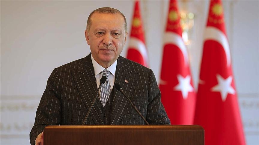 Erdoğan'dan Rasim Öztekin için taziye mesajı