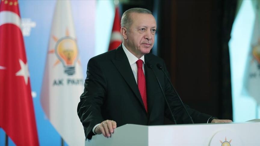 """Erdoğan: """"Döktükleri kanın hesabını misliyle soruyoruz"""""""